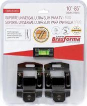 """Suporte universal ultra slim para tv/fixo 10"""" a 85"""" - sbrub859 - BRASFORMA -"""