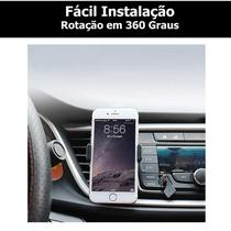 Suporte Universal Veicular para Celular Smartphone Fixação Saida de AR - Rpc