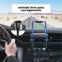 Suporte Veicular De Smartphone Celular Gravidade Na Saida Ar - 12Stones