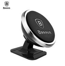 Suporte Veicular Magnético Smartphone 360 Baseus - Prata -