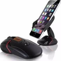 Suporte Veicular Mouse Com Ventosa Universal Para Celular - Import Ts