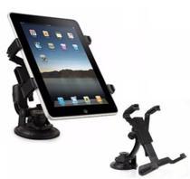 Suporte Veicular Painel Carro Vidro Tablet iPad Até 10 Polegadas -