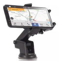 Suporte Veicular Universal para Celular Smartphone Ajustavel Fixação por Sucção - Rpc