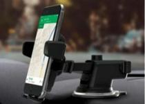 Suporte veicular universal para smartphone ajustável. - Lelong - Le-052