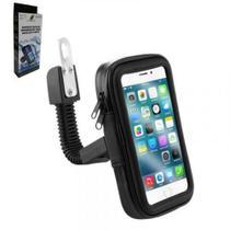 Suporte xcell smartphone impermeavel para bike/ moto 5.5'' - xc-sp-07-b -