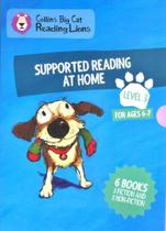 Supported Reading At Home - Big Cat Reading Lions - For Ages 6-7 - Level 3 - Collins