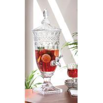 Suqueira Cristal 1,8lts Com Tampa Queen Suqq009 - Etilux / Ricaelle