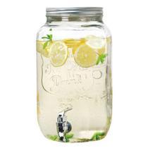 Suqueira de Vidro 7,5 Litros c/ Torneira e Tampa - Dispenser Incasa -