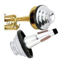 Surdina Cup Mute Ajustável Para Trompete Torelli Ta125 -