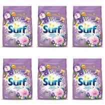 Surf Flor De Lavanda Detergente Em Pó 1kg (Kit C/06) -