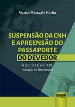 Suspensão da CNH e Apreensão do Passaporte do Devedor - Juruá -