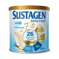 Sustagen Fit Complemento Alimentar Baunilha 370g -