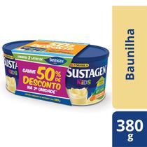 Sustagen Kids Complemento Alimentar Infantil Baunilha 2x380g -