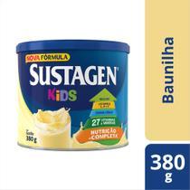 Sustagen Kids Complemento Alimentar Infantil Baunilha 380g -