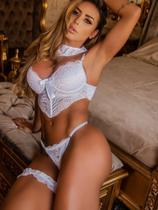 Sutiã calcinha barbatana tanga lingerie 38 40 - So Para Ladies