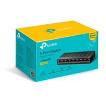 Switch 08 Portas 10/100/1000Mbps LiteWave Gigabit LS1008G - TP-LINK