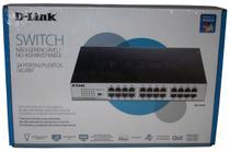 Switch D-Link Gigabit DGS-1024D 24 portas -