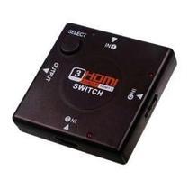 Switch Hdmi 3 Portas 1080p -