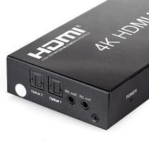 Switch HDMI 4x2 com Controle  2K, 4K, 3D e Full HD - Outras