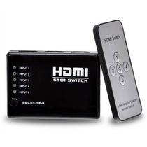 Switch HDMI/HDTV 5X1 c/ Controle - Lotus