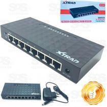 Switch Hub 8 Portas 10/100 mbps - Box7 -