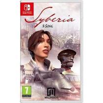 Syberia Nintendo Switch Midia Fisica -