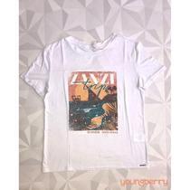 T-shirt Estampada Casual Silk Zanzi Trip M - Bana Bana