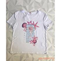 T-shirt Estampada Casual Silk Zanzi Vibes P - Bana Bana
