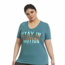 T-shirt plus silk stay in motion - Obbia