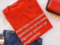 T-shirts 100% algodão kit c/ 3 unidades  - Donna Rica T-shirts