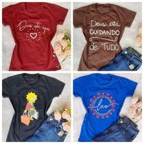 T-shirts feminina kit c/ 20 peças - Donna Rica T-Shirts