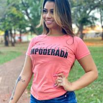 T-shirts feminina kit c/ 25 peças m - Donna Rica T-shirts