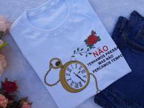 T-shirts feminina kit c/ 25 peças p - Donna Rica T-shirts