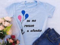 T-shirts feminina kit c/ 5 peças. - DONNA RICA T-SHIRTS