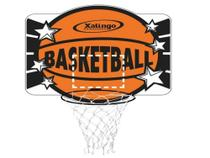 Tabela Basketball Mdf Cesta Aro De Ferro Xalingo -