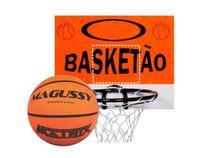 Tabela Basquete Aro Rede + Bola (kit Tabela E Bola) - Golaçoo