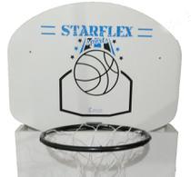 Tabela Basquete Starflex 15 mm - Branco e Azul -