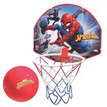 Tabela de Basquete com Bola do Spiderman, Lider 2048  Lider Brinquedos -