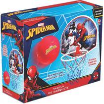 Tabela de Basquete com Bola Spiderman Lider -