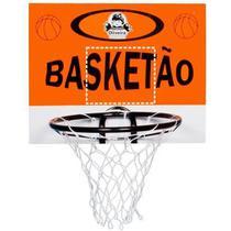 Tabela de Basquete em Madeira 39 Cm Basketão - Oliveira Brinquedos
