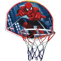Tabela de Basquete Spider-Man- Bola+Tabela- Lider Brinquedos -