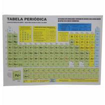 Tabela periodica classificacao elementos color / 25un / jg produçoes -