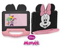Tablet 16GB WIFI Bluetooth Android 8.1 Capa Maleta Emborrachada Kid Pad Minnie Mouse - Multilaser