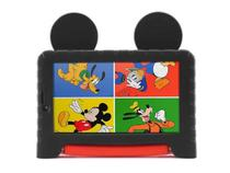 Tablet 7 Multilaser Mickey Mouse Plus, 16GB, Wi-Fi, Quad Core, Preto - NB314 -