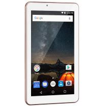 "Tablet 7"" Quad Core 1GB RAM Android 8.1 16GB Wi-Fi Bluetooth M7S Plus+ Rosa NB300 Multilaser -"