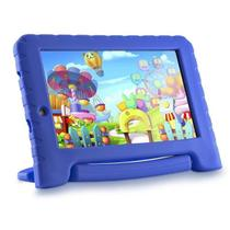 Tablet Azul Infantil Kids Menino Multilaser Quad Core + Capa