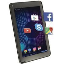 TABLET DAZZ DZ7bt WIFI QUADCORE 1GB + 8GB + Bluetooth Preto - 69201 -