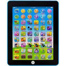 Tablet Didático Educativo Infantil Crianças Inglês/Português Well Kids Azul - Wellkids