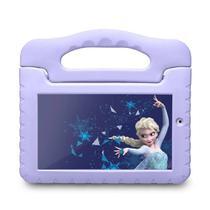 Tablet Disney Multilaser Frozen 16GB Tela 7 1GB RAM Câmera 2MP NB315 -