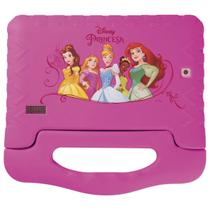 "Tablet disney princesas plus 16gb tela 7"""" quad core dual câmera rosa nb308 - Multilaser"